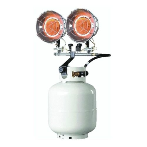 Mr Heater F242650/ MH30T Tank Top Propane Heater 2 Burner...
