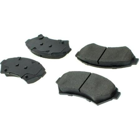 Go-Parts OE Replacement for 2000-2005 Pontiac Bonneville Front Disc Brake Pad Set for Pontiac Bonneville (SE / SLE)