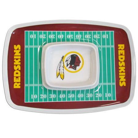 Washington Redskins Chip & Dip Tray NFL Licensed #32507 by