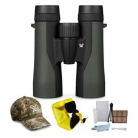 Vortex 10x42mm Crossfire Binocular with Red Foam Strap and Cleaning and Care Kit