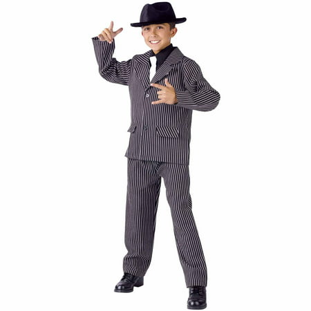 Gangster Male Child Halloween Costume - Woman Gangster Halloween Costumes