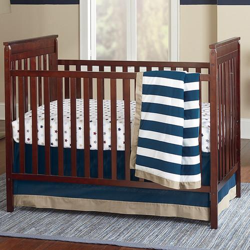 Crown Crafts Sadie & Scout Hampton 3 Piece Crib Bedding Set
