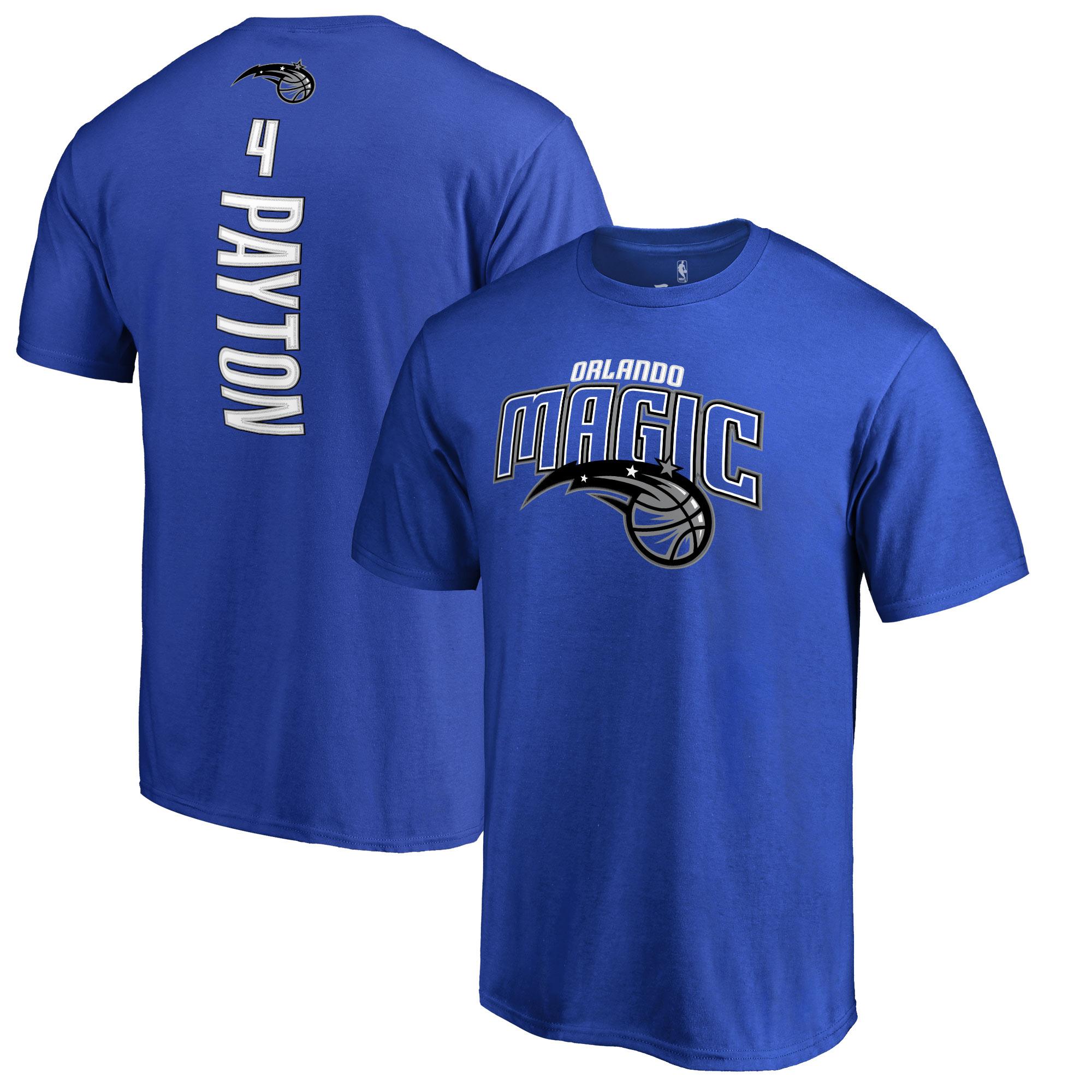 Elfrid Payton Orlando Magic Backer Name & Number T-Shirt - Blue