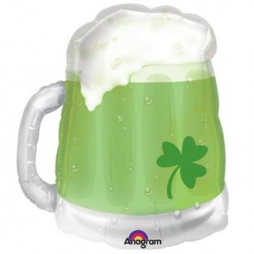 "Green Beer Mug 23"" by"
