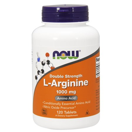 NOW Supplements, L-Arginine 1000 mg, Amino Acid, 120