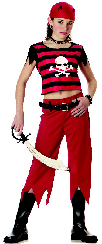 Hip Punk Pirate Child Costume by California Costumes
