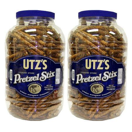 Utz Country Store Pretzel Stix Barrels (55 oz., 2 pk.)