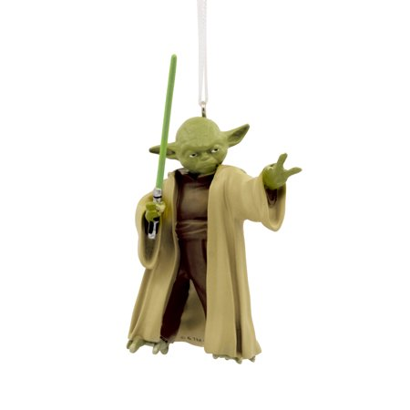 Hallmark Star Wars Yoda Christmas Ornament - Yoda Hat