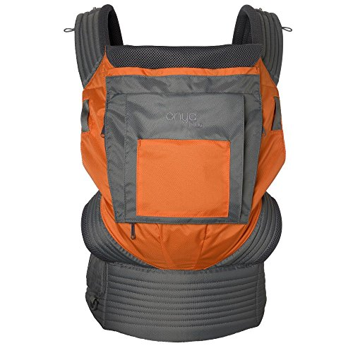 Onya Baby Carrier - Outback (Burnt Orange/Slate Gray, One Size)