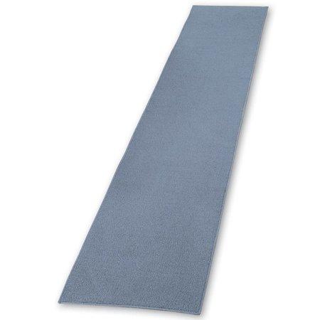 Extra Long Skid Resistant Floor Hallway Kitchen Runner Rug Blue 20