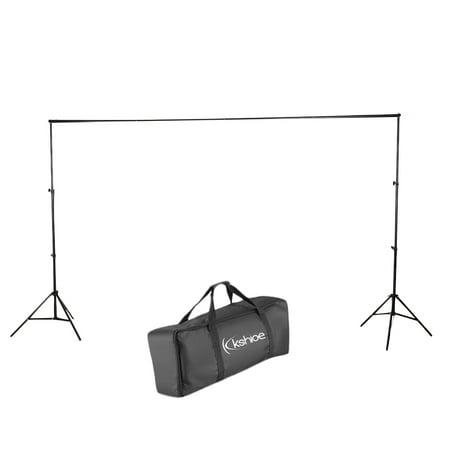 Zimtown 10ft Adjustable Background Support Stand Photography Video Backdrop Kit Black - image 3 de 7