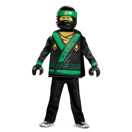 Kai Ninjago Halloween Costume (Lego Ninjago Boys' Lloyd Movie Classic)