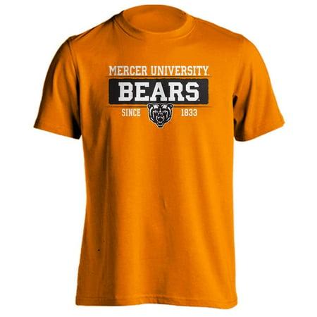 - Mercer University Bears MU Bar Mascot Since 1833 Short Sleeve T-Shirt