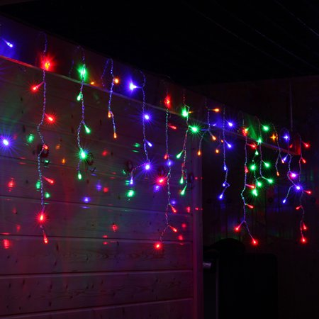 LED Window Curtain Icicle String Fairy Lights Wedding Party Christmas Decor MR](Christmas Decore)