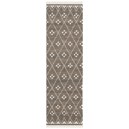 Safavieh Natural Kilim Dhurrie Brown & Ivory Area Rug