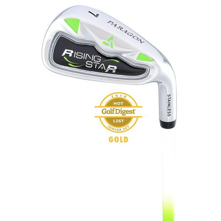 Paragon Golf Rising Star Kids Junior #7 Iron Ages 8-10 Green / Left-Hand