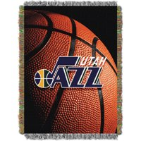 Utah Jazz The Northwest Company 48'' x 60'' Photo Real Woven Tapestry Throw - No Size