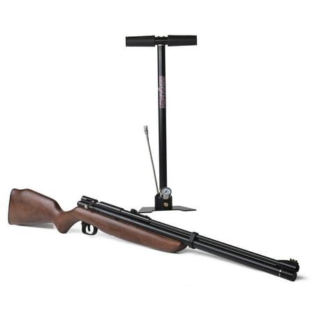 Benjamin Discovery PCP Air Rifle Kit with Pump, BP1K77GP,  177 Cal