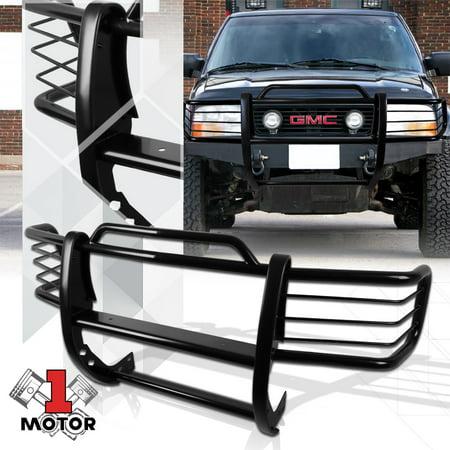 Black Mild Steel Grille/Brush/Headlight Guard for 98-04 Chevy S10  Blazer/Sonoma 99 00 01 02 03
