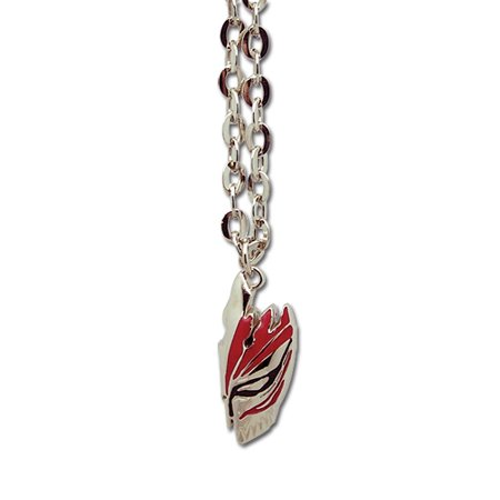 Necklace - Bleach - New Ichigo Half Hollow Mask Anime Licensed ge8304 (Bleach Ichigo Full Hollow Mask)