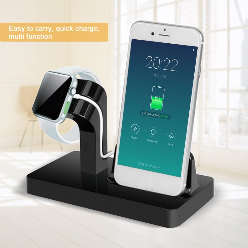 Hot Sale 2 in 1 Charging Dock For Apple Charger Holder For iWatch For iPhone 7/6/5