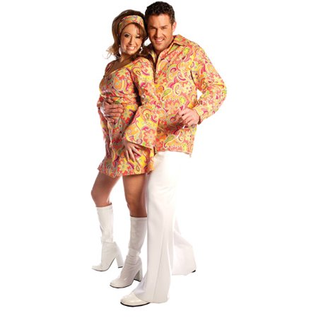 Go Go Shirt Adult Halloween Costume (Go Costumes)