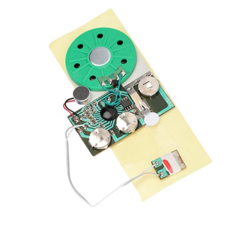 Ashata DIY Greeting Card Chip 30 Seconds Recordable Voice Sound ModuleGreeting Module