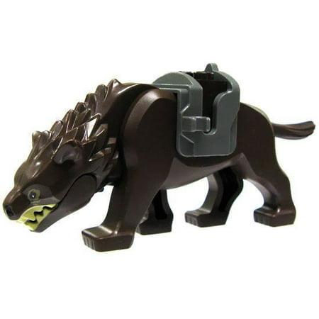 LEGO The Hobbit Loose Warg Minifigure [Dark Brown Loose]