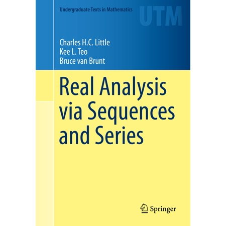 Real Analysis via Sequences and Series - eBook