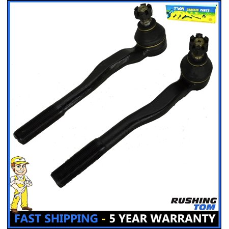 Set of 2 Front Left & Right Outer Steering Tie Rod Ends For Toyota 4Runner 96-02
