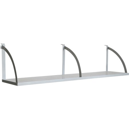 "Lorell, LLR90263, 60"" Panel Shelf, 1 Each, Aluminum"