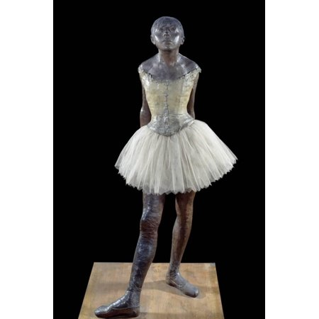 Degas Little Dancer - Little Dancer by Edgar Degas Print Wall Art