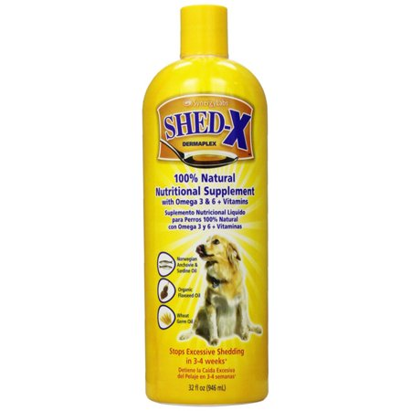 Shed X Dermaplex Nutritional Supplement For Dogs  32 Oz
