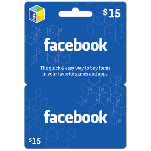 Facebook $15 eGift Card (Email Delivery)