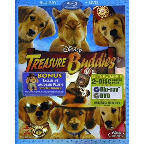 Treasure Buddies (Blu-ray + DVD) (Blu-ray Amaray) (Widescreen)