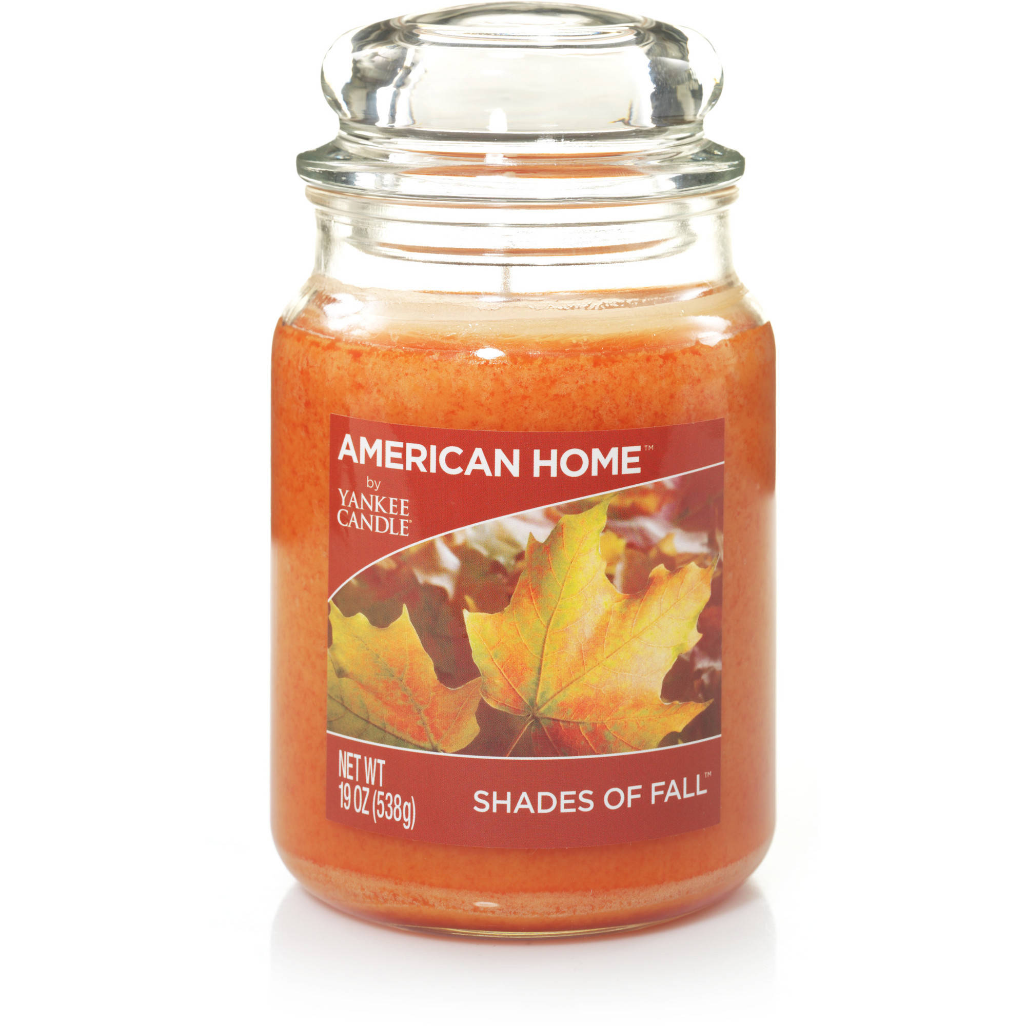 American Home by Yankee Candle Shades of Fall, 19 oz Large Jar