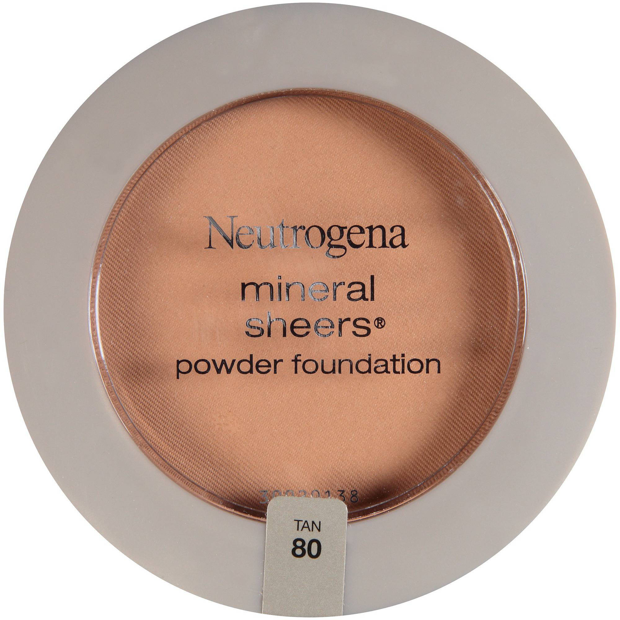 Neutrogena Mineral Sheers Compact Powder Foundation SPF 20, Tan 80, 0.34 oz