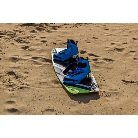 Canvas Print Board Surfing Boots Equipment Sport Kite Surfing Stretched Canvas 32 x