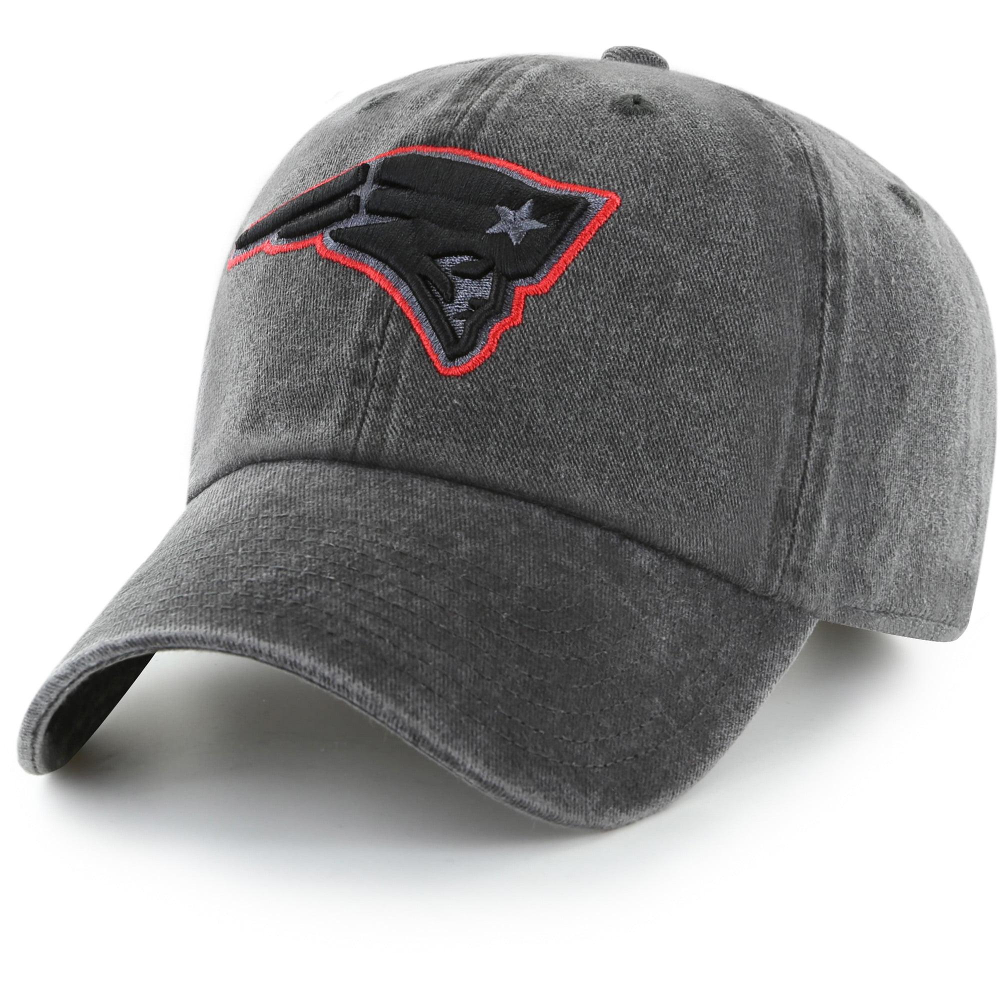 Men's Fan Favorite Black New England Patriots Mass Matter Adjustable Hat - OSFA