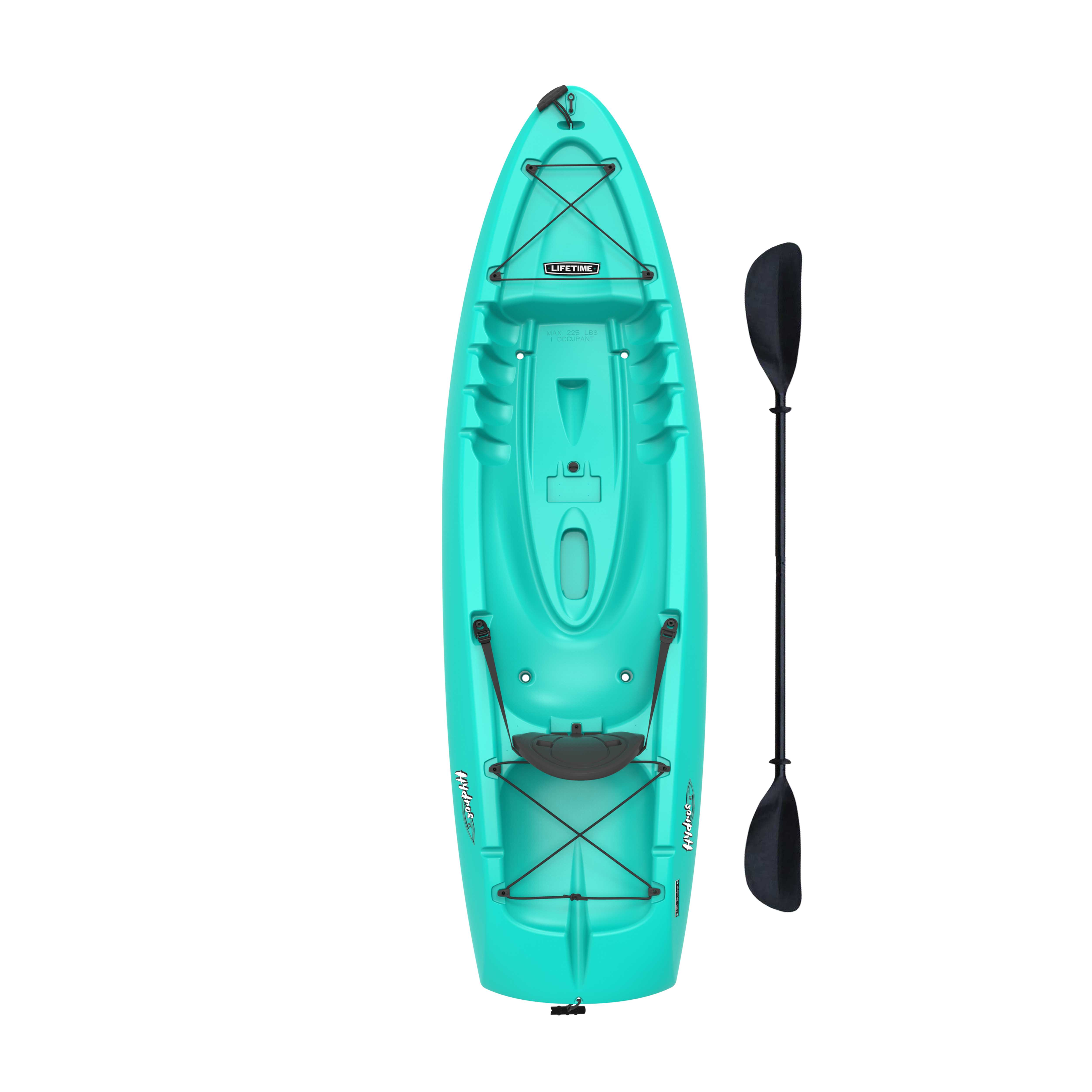 Hydros 8ft 5 Inch Combination Tunnel Hull Design Sit On Top Kayak With Paddle