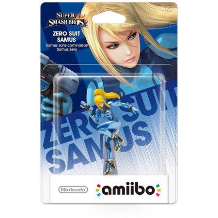 Zero Suit Samus Super Smash Bros Series Amiibo  Nintendo Wiiu Or New Nintendo 3Ds