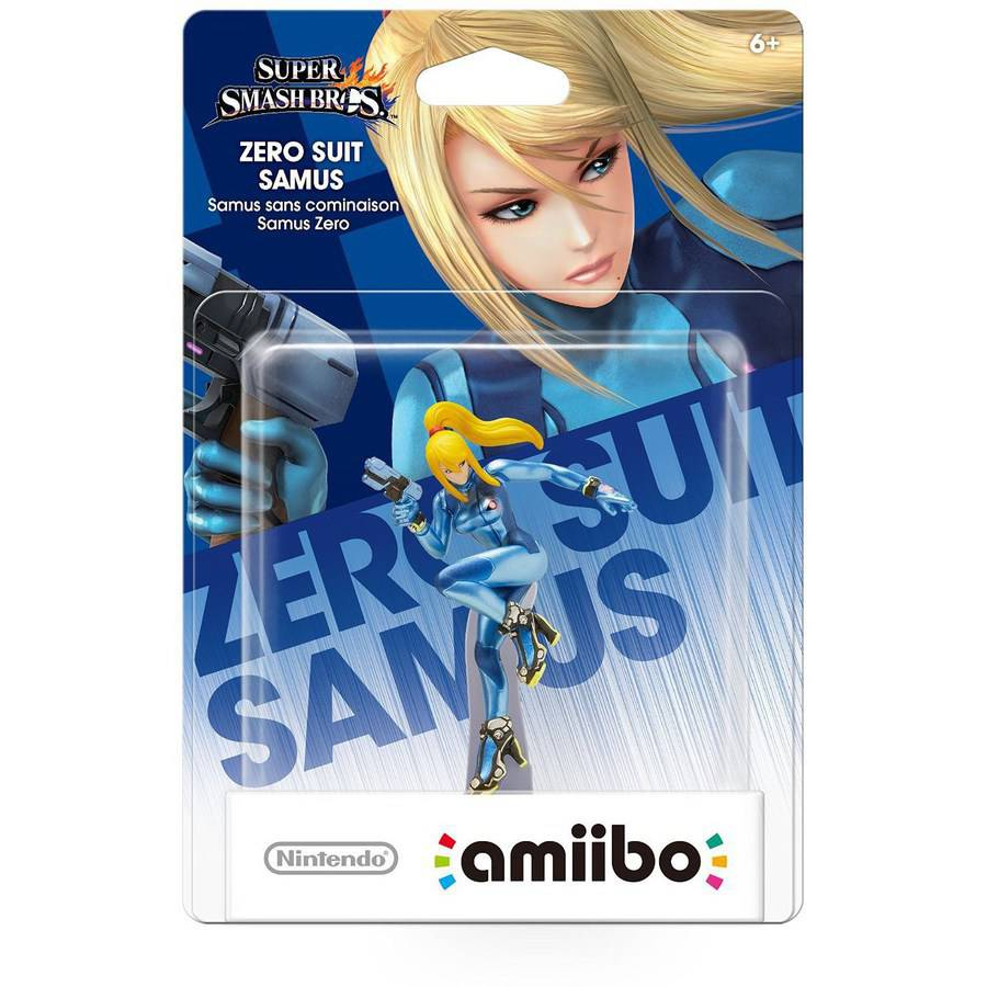 Zero Suit Samus Super Smash Bros Series amiibo (Nintendo WiiU or New Nintendo 3DS)