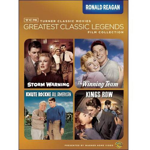 TCM Greatest Classic Legends Film Collection: Ronald Reagan - Knute Rockne All American / Kings Row / Storm Warning / The Winning Team