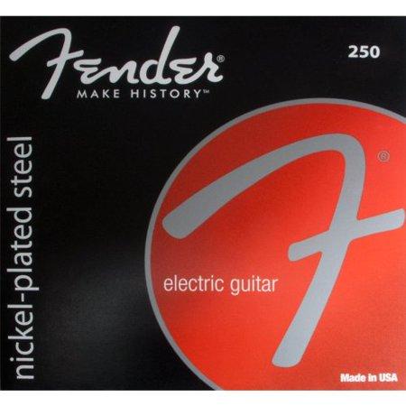 Fender Nickel Ball - Guitar strings, nickel-plated steel, ball end, .009-.042 By Fender