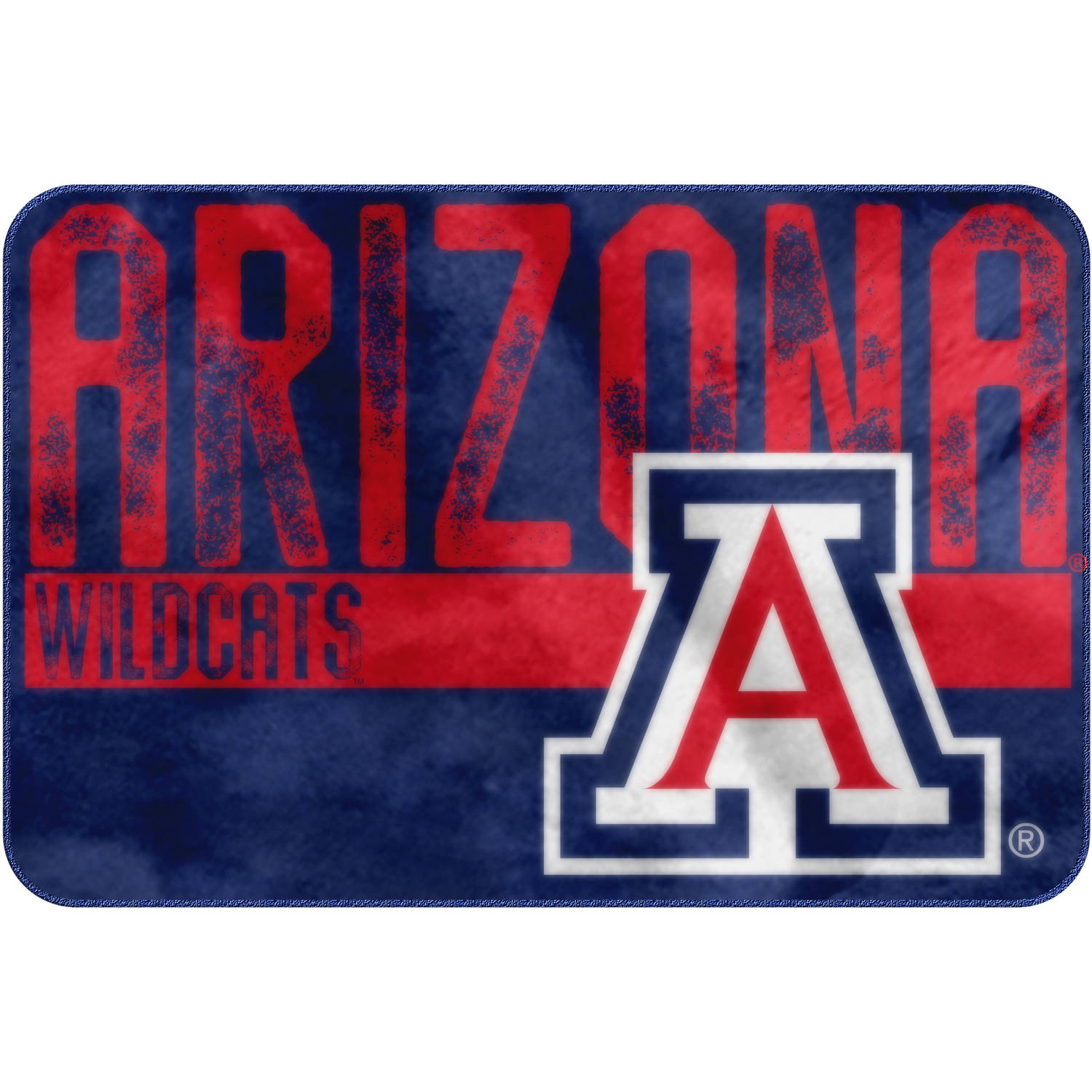 "NCAA Arizona Wildcats 20"" x 30"" ""Worn Out"" Mat, 1 Each"