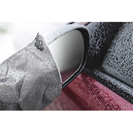Car Side Mirror Covers - Keep Your Mirrors Free from ice, Snow and Frost - Quick and Easy - Universal Size Fits Car, SUV, CRV, Pickup, Truck
