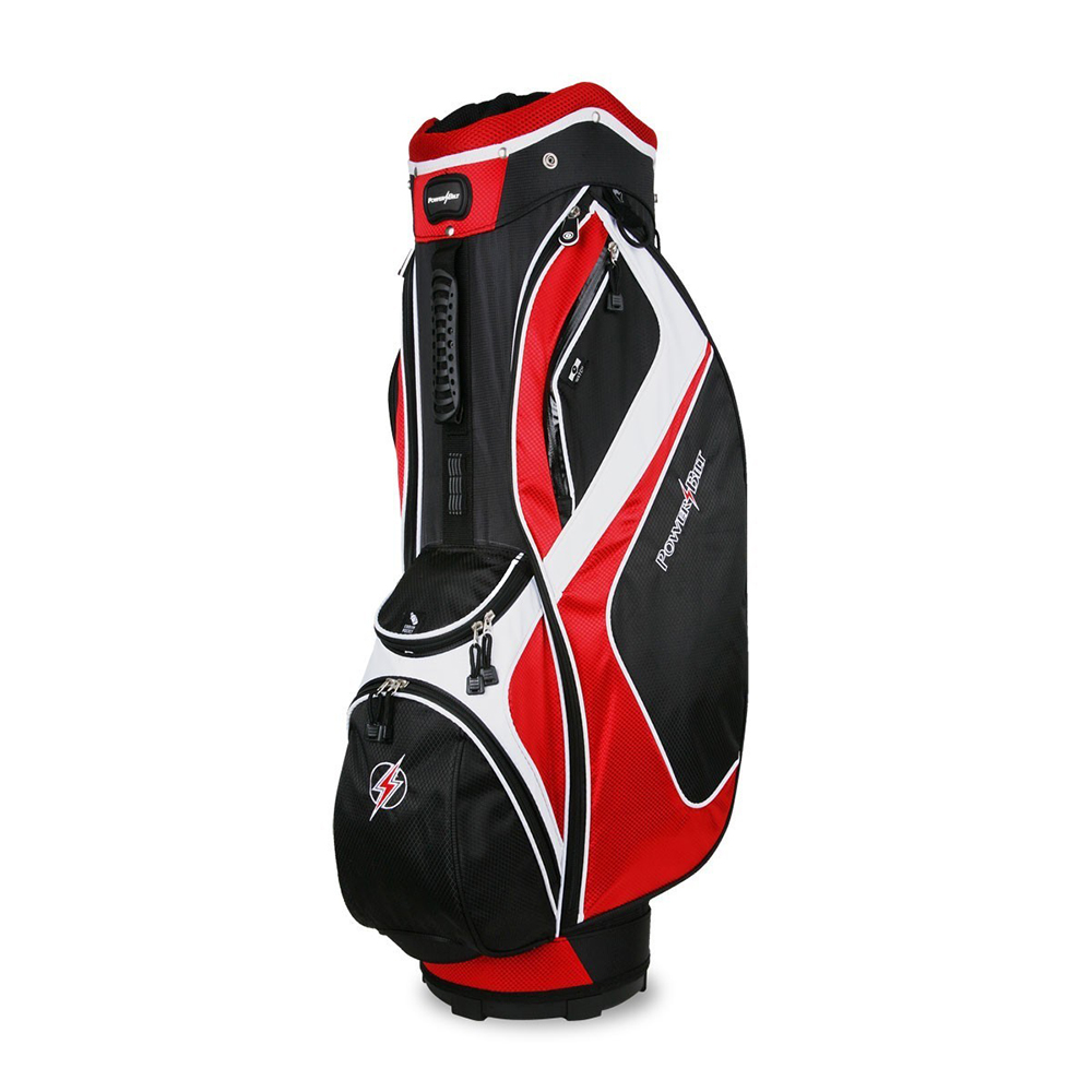 NEW PowerBilt Golf Air Attack Cart / Carry Bag 14-way Full-length Dividers
