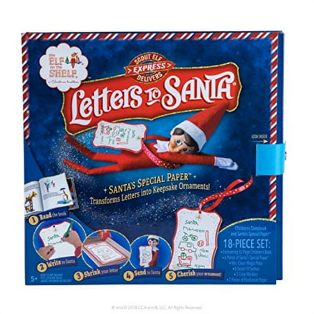 Elf on The Shelf Letters to Santa, Blue