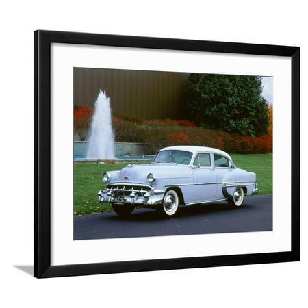 1954 Chevrolet Bel Air Framed Print Wall