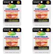Dr. Dans Cortibalm Lip Balm for Chapped Lips, 4 Count